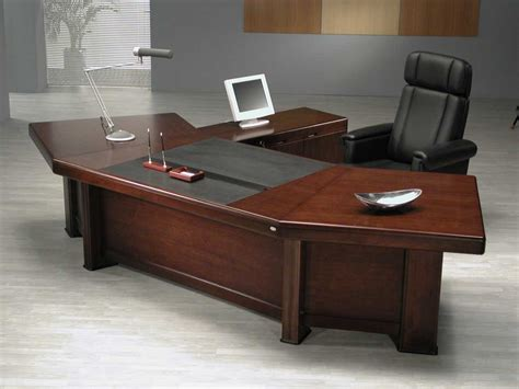 Large Work Desk Big Bend Director Desk Buy Product On Alibaba