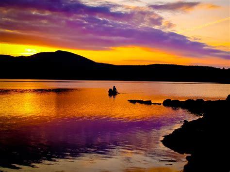 dark mountain purple sky sea wallpapers dark mountain