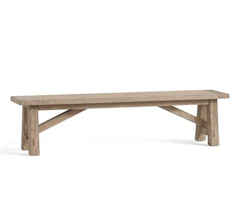 pottery barn benches toscana bench pottery barn