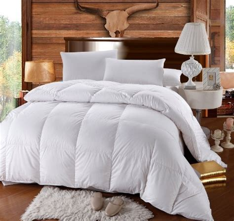 100 percent cotton filled comforters full size down comforter 500 thread count siberian goose