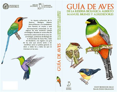 gua de aves sede occidente present 243 gu 237 a de aves de su reserva biol 243 gica