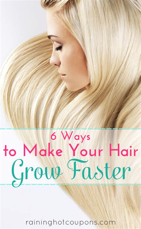 how to make your hair grow faster 6 ways to make your hair grow faster diy craft projects