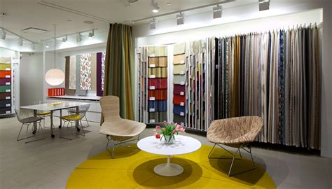 design center fabrics knolltextiles opens residentail showrooms in los angeles