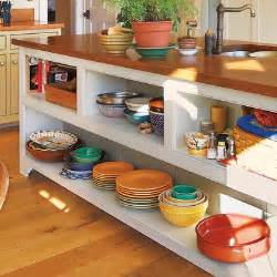 kitchen island with open shelves warm and inviting open shelves 28 thrifty ways to