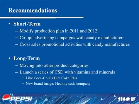 11 10 Forecasting Mba Lucky 7 by Mba Team Pepsi Us Carbonated Soft Drink Sales Forecast