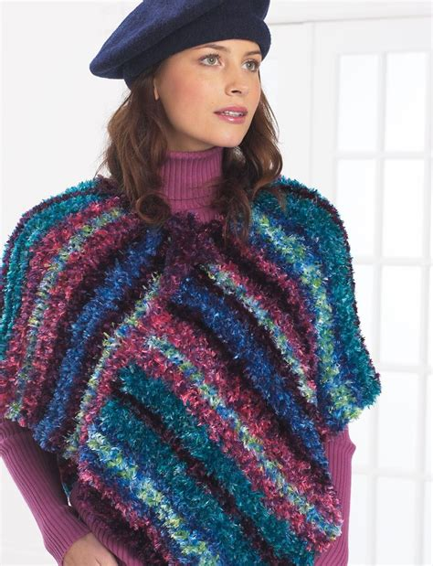 free poncho knitting patterns adults free crochet pattern for poncho favecrafts