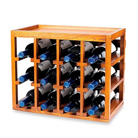 wine rack bed bath and beyond wine enthusiast 12 bottle wooden wine rack bed bath beyond