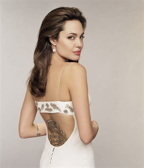angelina jolie tattoo on chest 20 amazing angelina jolie tattoos pictures hative