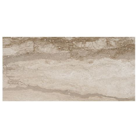 marazzi vettuno bisque 12 in x 24 in glazed porcelain