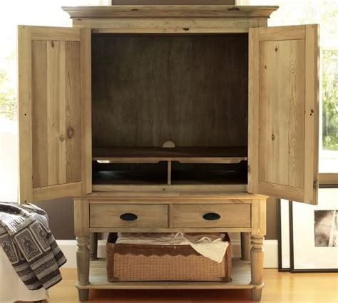 media armoire pottery barn