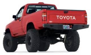 89 Toyota Bumper Warn 68490 Warn Rock Crawler Rear Bumper For 89 95