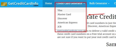 make a credit card number and security code get fresh valid credit card numbers with details