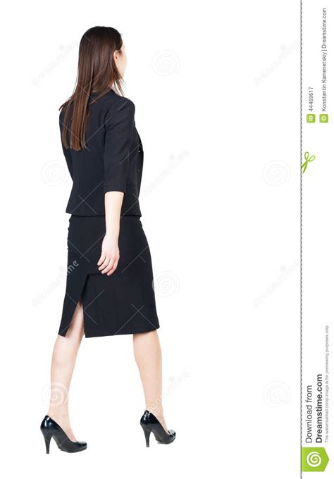 ladies back side images walking business woman back view stock photo image