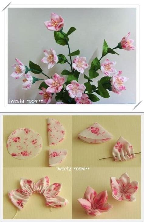 easy diy projects for diy simple easy fabric flower diy projects usefuldiy