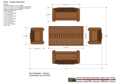 wooden couch plans home garden plans gt101 garden teak table plans out