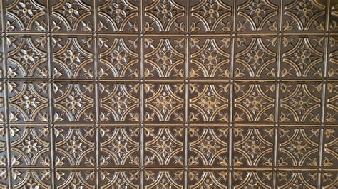 reims faux tin ceiling tile glue up 24 x24