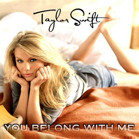 you belong with me you belong with me fanmade single cover fearless