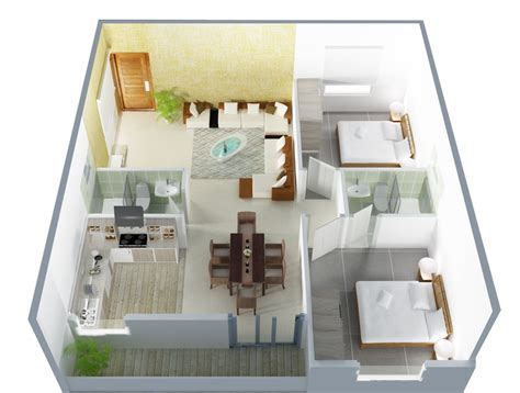 2 bhk home design layout 2 bhk independent house plans in india arts