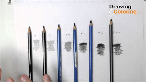 4 Drawing Pencil by Pencil Hardness The Only Pencils You Need Version