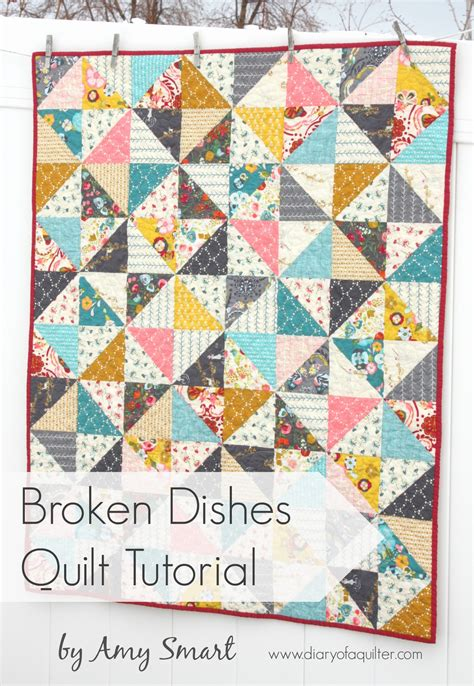 Quilting Tutorials On by Half Square Triangle Baby Quilt Pattern