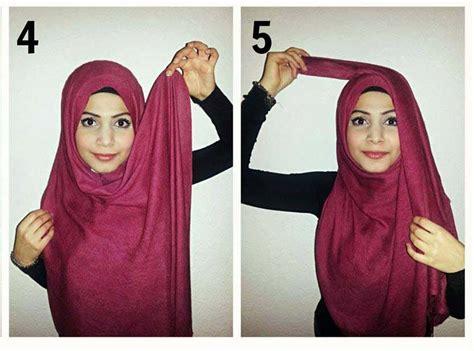 tutorial hijab arab saudi how to wrap a hijab in arabian style hijabiworld