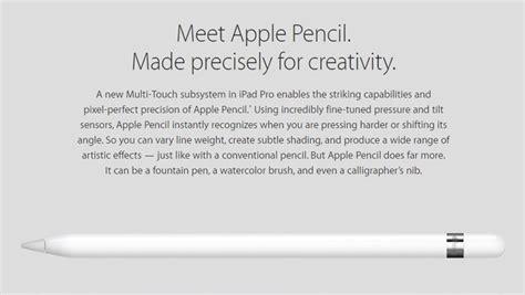 apple pencil harga harga apple ipad pro dan spesifikasi november 2017