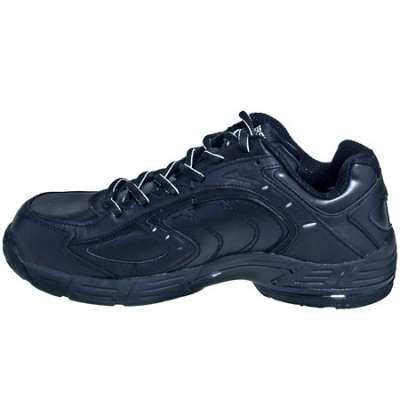 converse shoes s black leather esd athletic work
