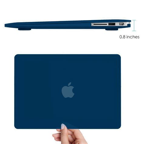 Casing Macbook Air frosted shell apple macbook air 13 inch blue