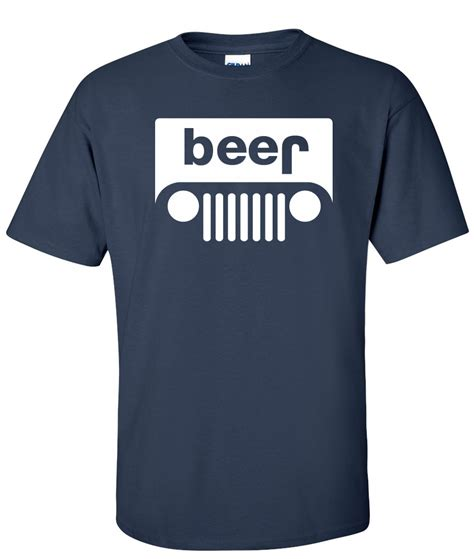 jeep shirt beer jeep logo graphic t shirt http www