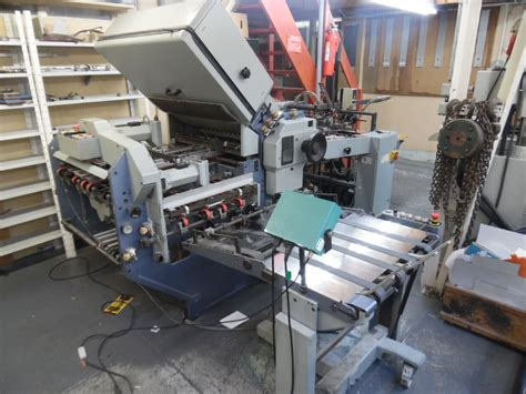 Stahl Paper Folding Machine - folders used finishing machines stahl paper folding
