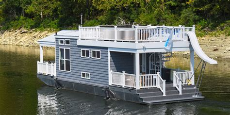 living in a house boat tiny houseboat on water tiny houses