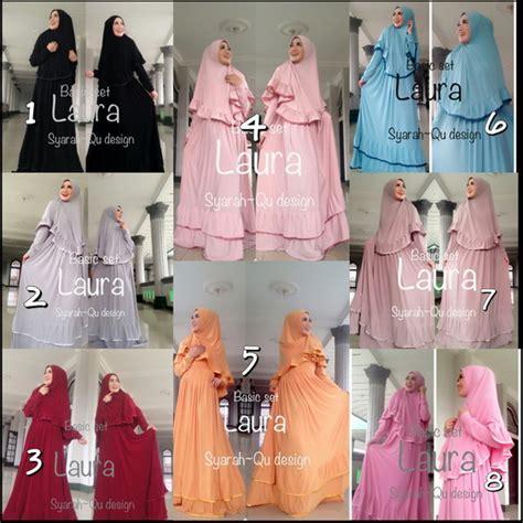 Anisa Blouse Muslim Lebaran Simple Casual Bagus Murah fashion butiq