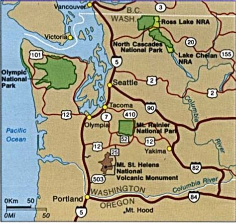 mt rainier national park map middletownhighschool b mt rainire national park