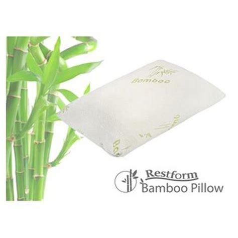 l oreiller bambou lot de 2 bien 234 tre et loisirs