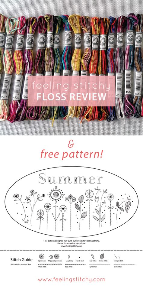 dmc floss card template floss review free pattern dmc coloris floss feeling