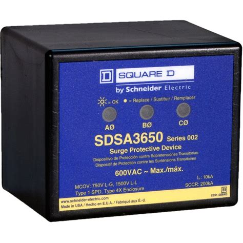 Surge Arrester Valvetrab F Ms12st 1 Phase square d panel mounted 3 phase surge protective device sdsa3650 the home depot