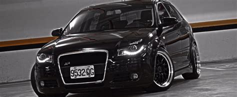 Audi A3 Euro DRL LED HID Aftermarket Projector Headlights By ProTuningLab