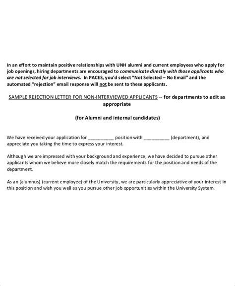 Rejection Letter Uk rejection letters offer rejection letter uk