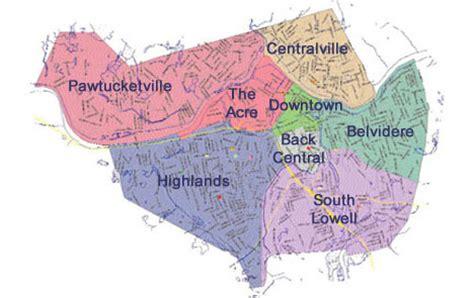 map lowell ma lowell ma map my