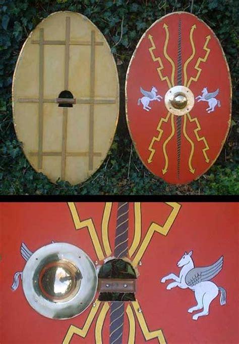 Feng Shui Interior Design ah6711 roman oval shield scutum 200 bc till 50ad
