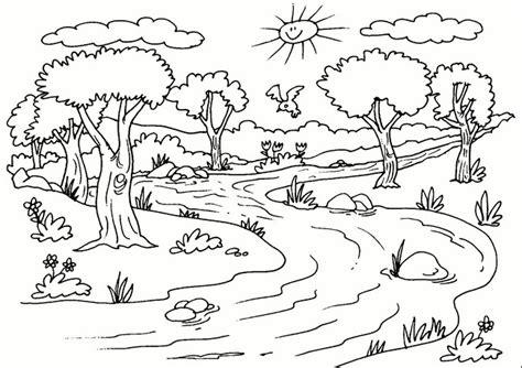 imagenes para dibujar nuevas los mejores paisajes naturales para dibujar f 225 cil y bonitos