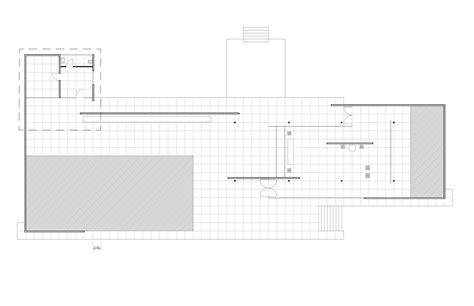 barcelona pavilion floor plan dimensions drawing midterm barcelona pavilion hande sığın