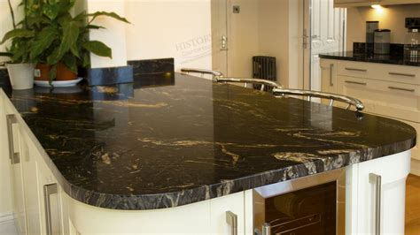 Black Granite Countertop by Polished Cosmos Black Granite Countertops Granite Bathroom Vanity Tops Granite Bathroom