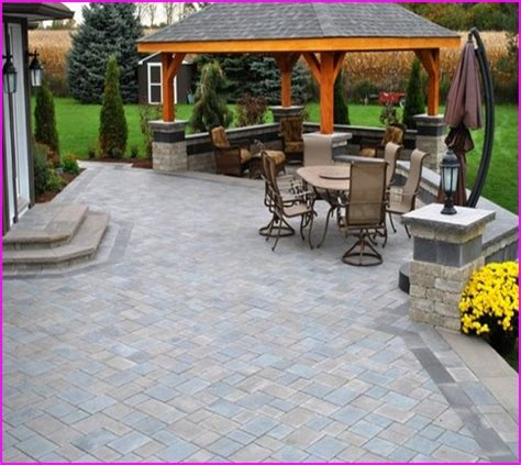paver patio cost per square foot paver patio cost per square foot home design ideas