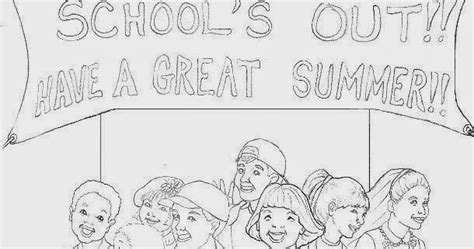 coloring page last day of school last day of school coloring pages for kids