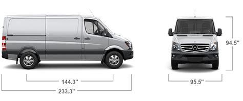 Sprinter Cargo Van Features   Mercedes Benz Vans