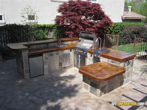 Table West Sacramento by L Shaped El Dorado Outdoor Kitchengpt Construction
