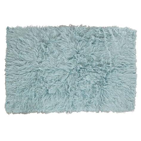 flokati rug uk flokati rug 1400g m2 60x120cm blue 1 pashmina pashminas co uk
