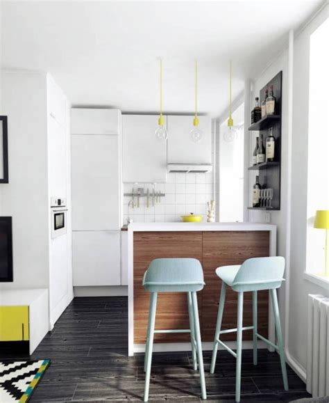 Small Apartment Kitchen Interior Comment D 233 Corer Et Am 233 Nager Un Petit Appartement