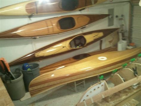 cedar strip kayak by heirloom kayak hand made wood strip - Clc Boats Cedar Strips